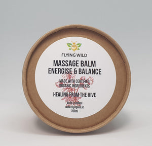 Massage Balm Energise & Balance Blend - flyingwild