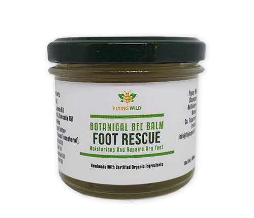 Foot Rescue - Organic Botanical Balm with Tea Tree, Rosemary, Mint & Lavender - flyingwild