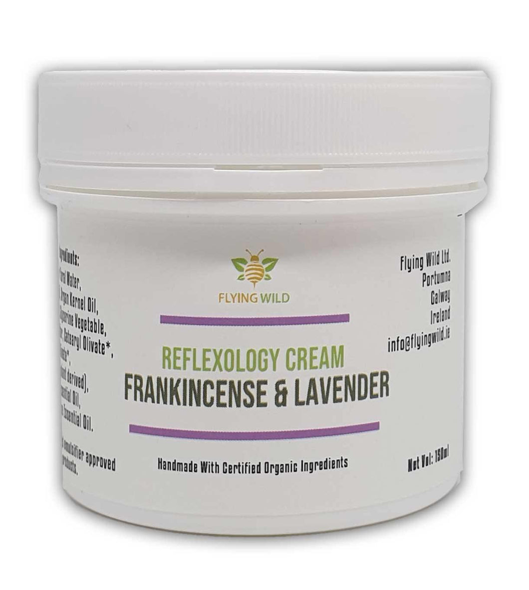 Reflexology Cream Frankincense & Lavender - flyingwild