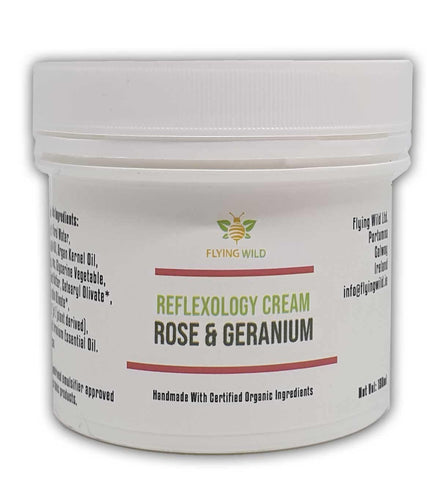 Reflexology Cream Rose & Geranium - flyingwild