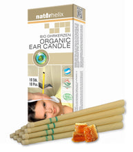 Naturhelix Organic Ear Candles 10-Pack - flyingwild