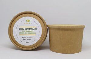 Arnica Massage Balm 8% - flyingwild