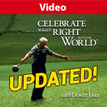 Celebrate What's Right With the World by Dewitt jones