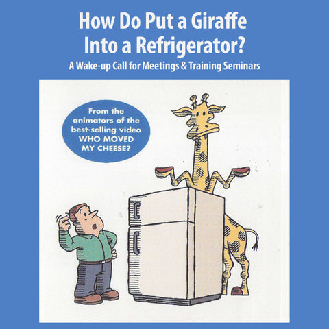 How Do You Put A Giraffe Into A Refrigerator