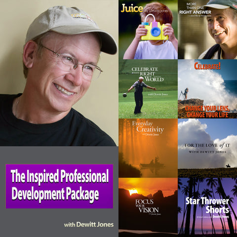 Inspired Professional Development Package with Dewitt Jones