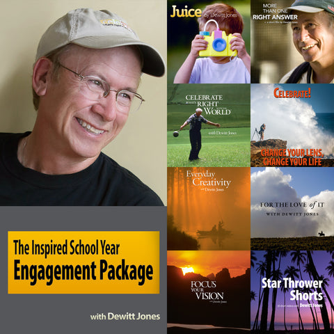 Inspired School Year Engagement Package w/ Dewitt Jones