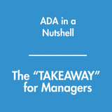 ADA in a Nutshell - The TAKEAWAY for Managers