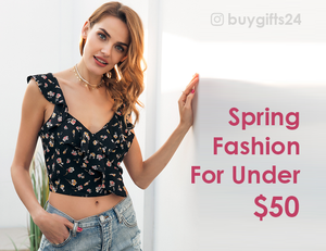 Spring Fashion For Under $50
