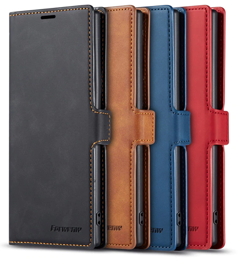 Samsung Note 10 Leather Wallet Case