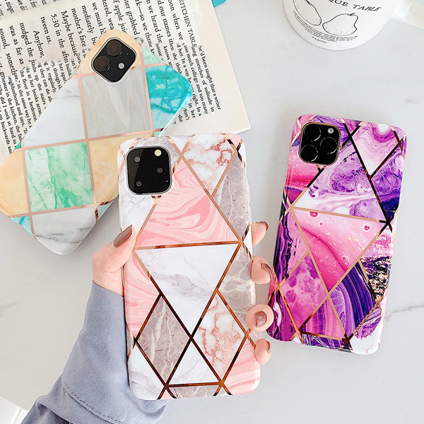 Carrara™ Marble Phone Cases