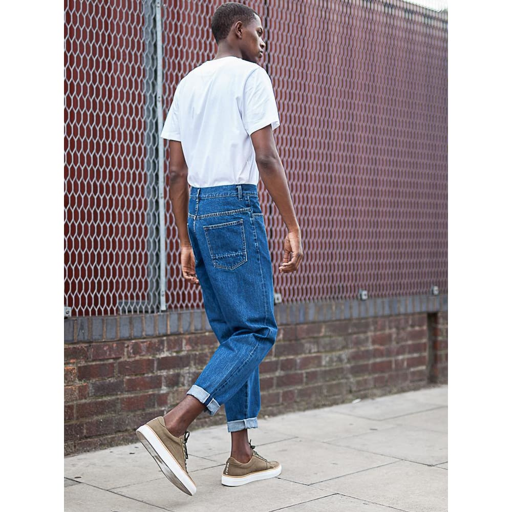 BOXER JEAN in SELVEDGE PACIFIC - JEA - Natural Selection London