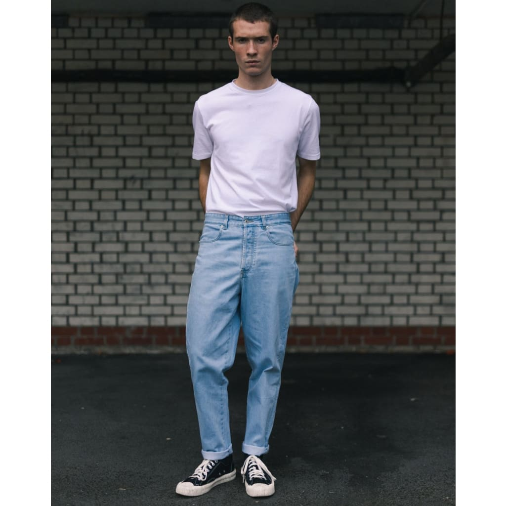 BOXER JEANS in ARCTIC WASH - JEA - Natural Selection London