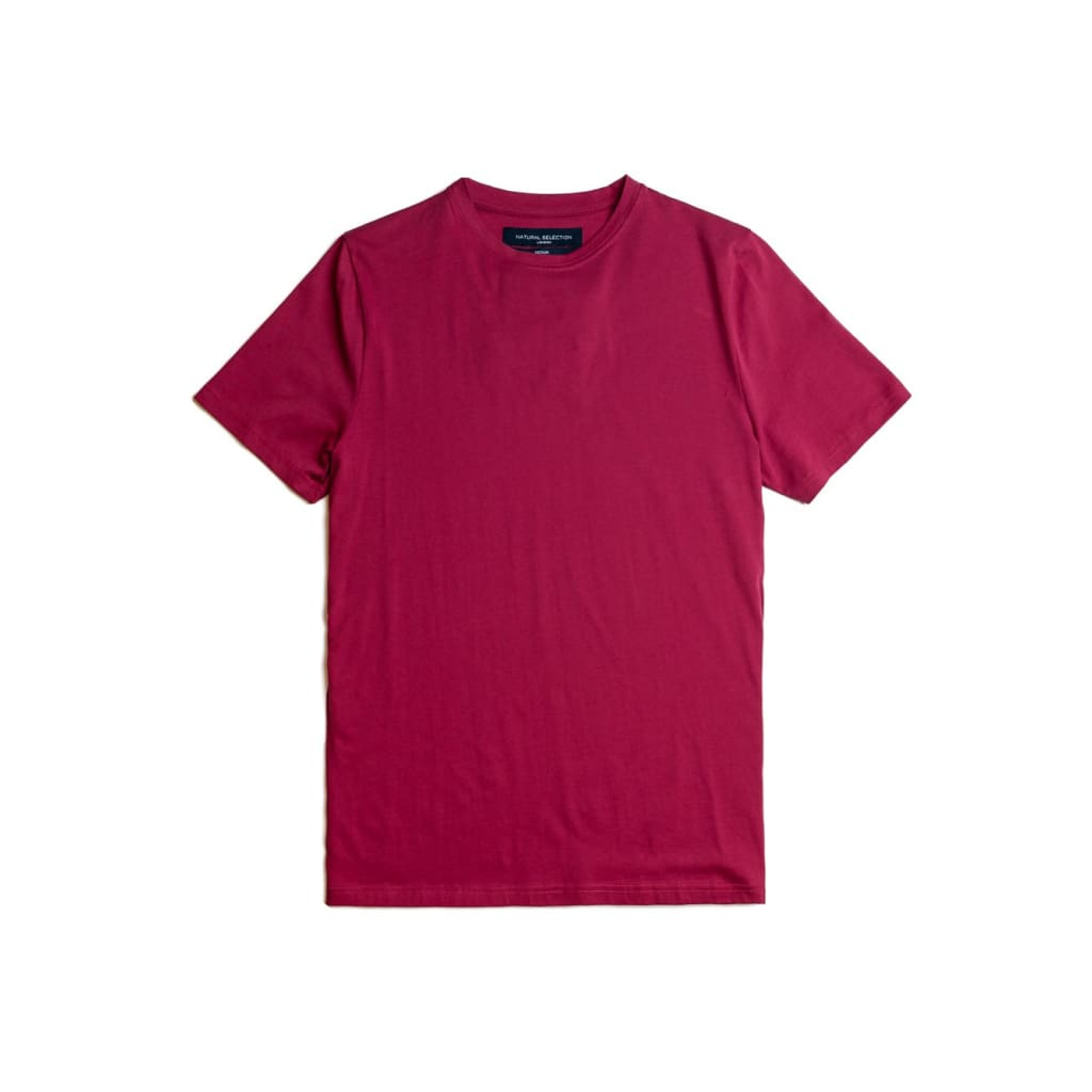 Joseph Tee In Supima Beetroot - Tee - Natural Selection London