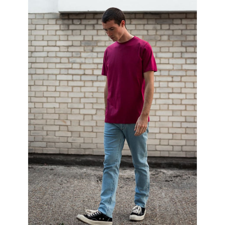 JOSEPH TEE in SUPIMA BEETROOT