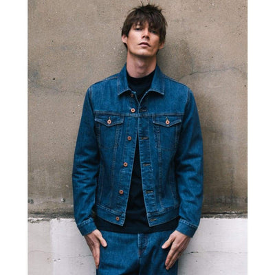 LIVINGSTONE JACKET in ORGANIC PACIFIC WASH - JKT - Natural Selection London