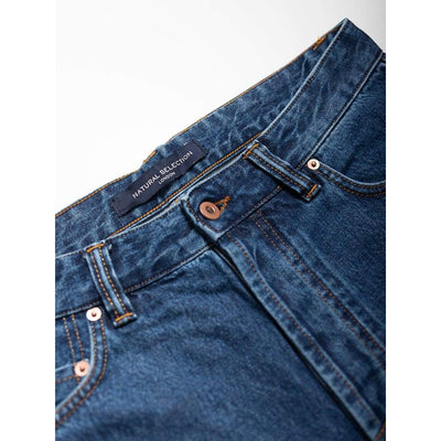 Narrow Jeans In Selvedge Pacific - Jea - Natural Selection London