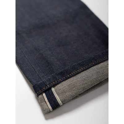 Narrow Jeans In Selvedge Raw - Jea - Natural Selection London