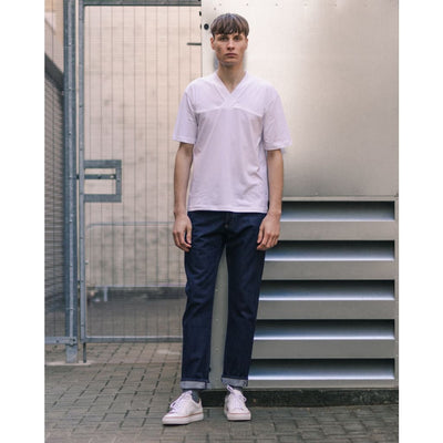 NARROW JEANS in SELVEDGE RINSE - JEA - Natural Selection London