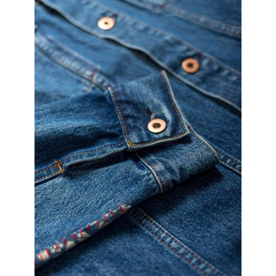REWORKED LIVINGSTONE in SELVEDGE PACIFIC - JKT - Natural Selection London