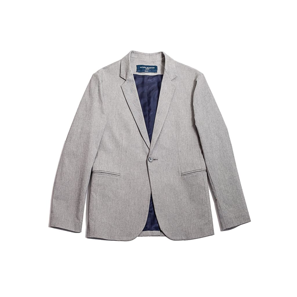 SB BLAZER in HEATHER FLANNEL - JKT - Natural Selection London