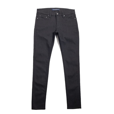 SKINNY JEANS in BLACK DENIM - Natural Selection London