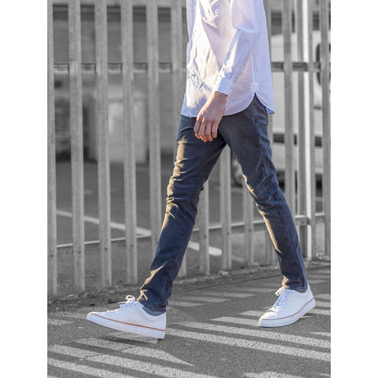 SKINNY JEANS in GRAPHITE DENIM