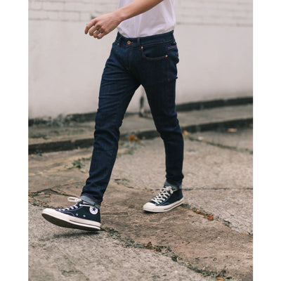 SKINNY JEANS in ORGANIC STRETCH RINSE - JEA - Natural Selection London
