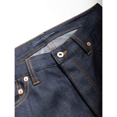 Skinny Jeans In Stretch Raw - Jea - Natural Selection London