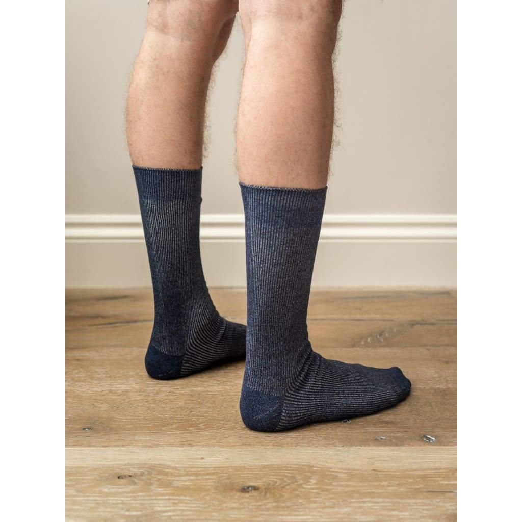 Sock 8 Navy - ACC - Natural Selection London