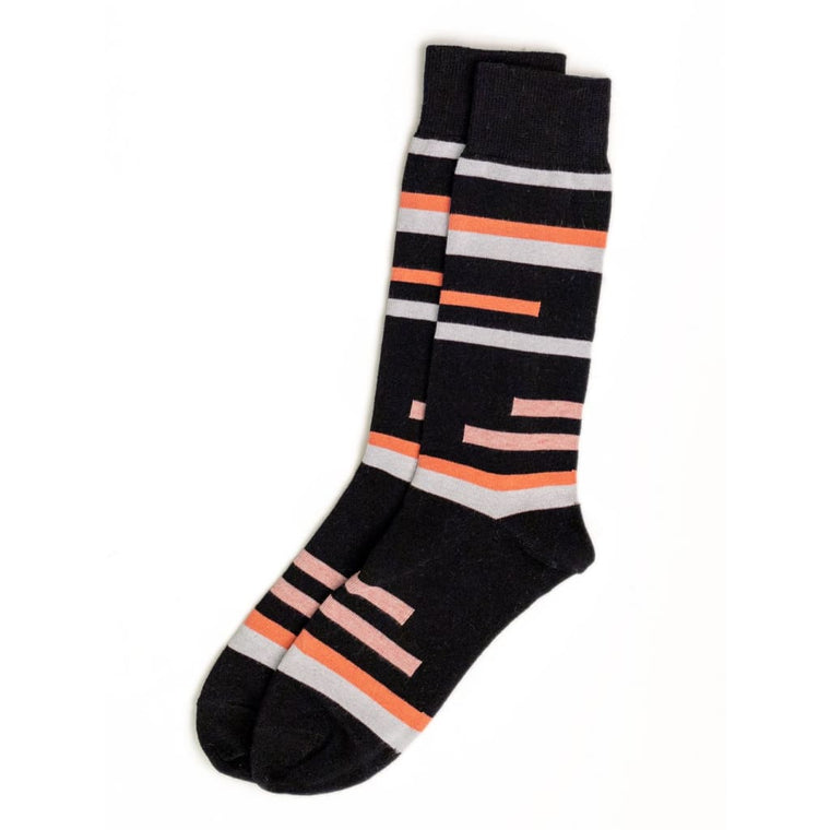 Sock 83 Black / Pink - ACC - Natural Selection London