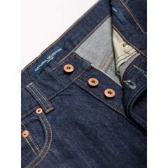 Straight Jeans In Selvedge Rinse - Jea - Natural Selection London