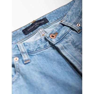 Taper Jeans In Stretch Arctic - Jea - Natural Selection London