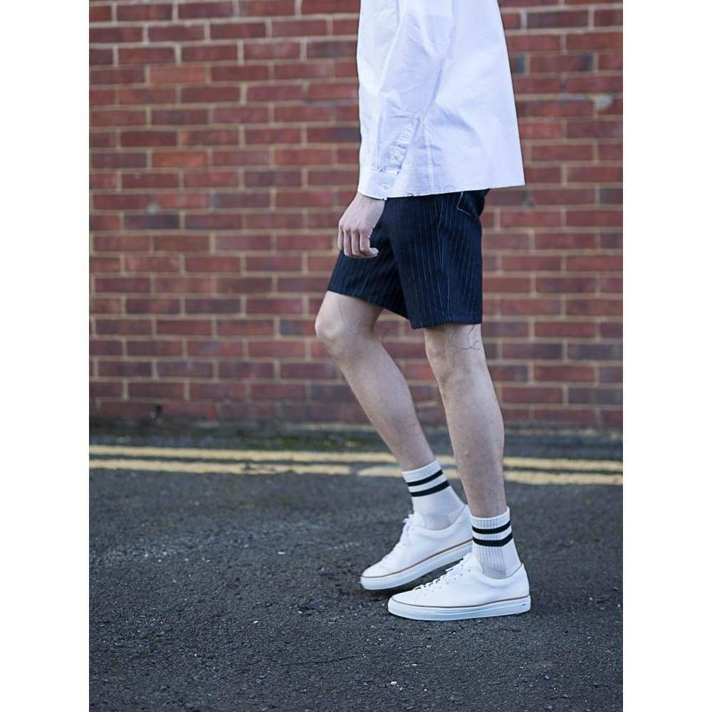 Track Shorts In Laser Pin - Sho - Natural Selection London