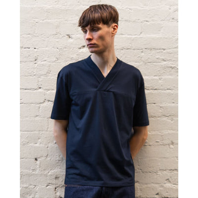 VEEJAY TEE in SUPIMA NAVY - TEE - Natural Selection London