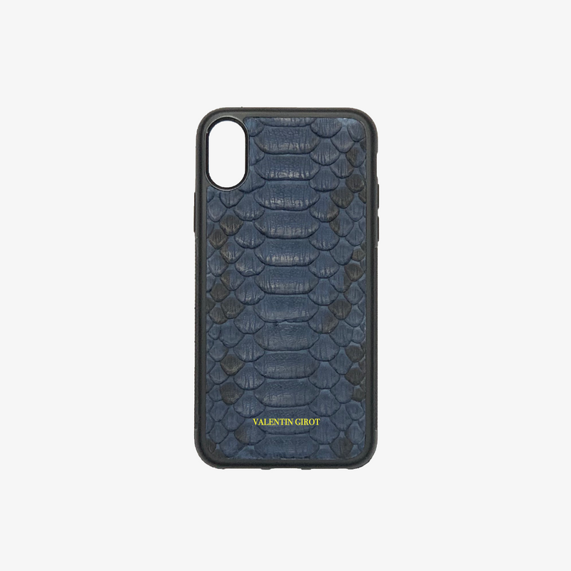 COQUE IPHONE XR BLEU