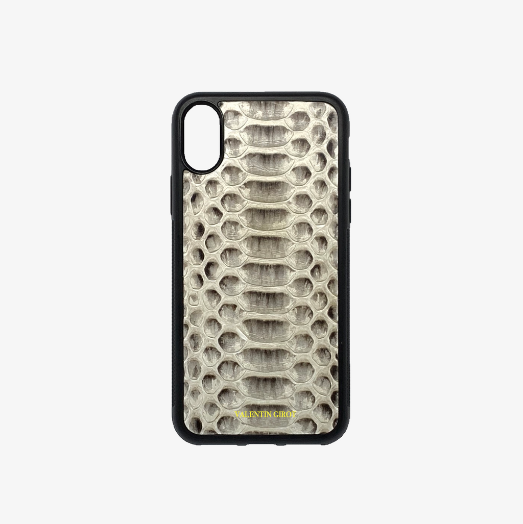 COQUE IPHONE XR PYTHON NATUREL