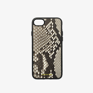 COQUE IPHONE 7/8 PYTHON NATUREL ÉCAILLES