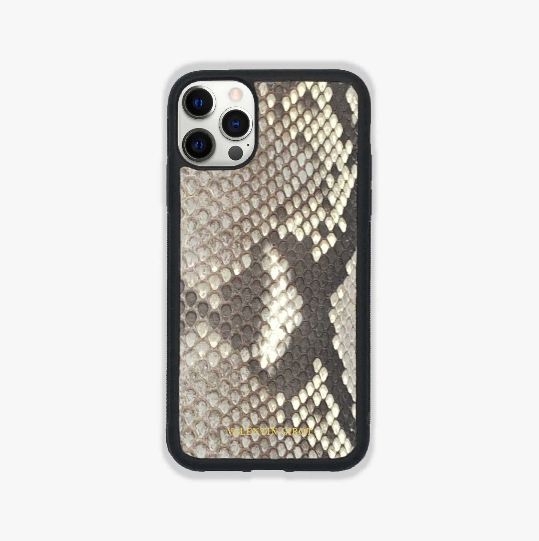 COQUE IPHONE 12 PRO MAX NATUREL ÉCAILLES