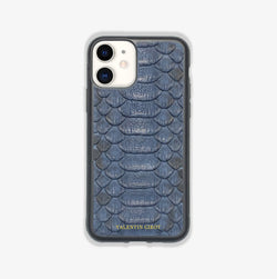 COQUE IPHONE 12 BLEU