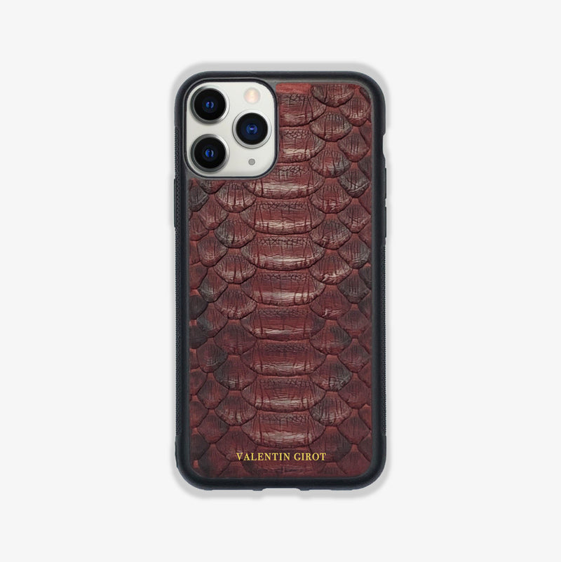 COQUE IPHONE 11 PRO BORDEAUX