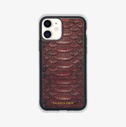 COQUE IPHONE 11 BORDEAUX