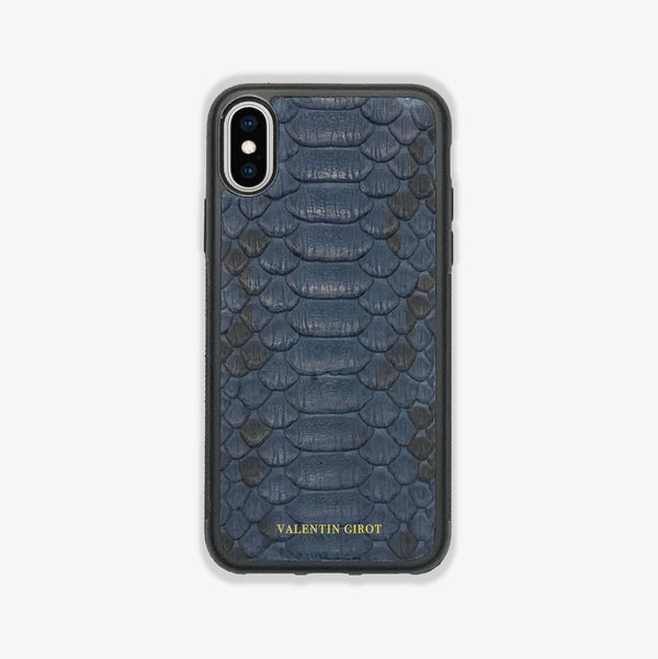 COQUE IPHONE X/XS BLEU