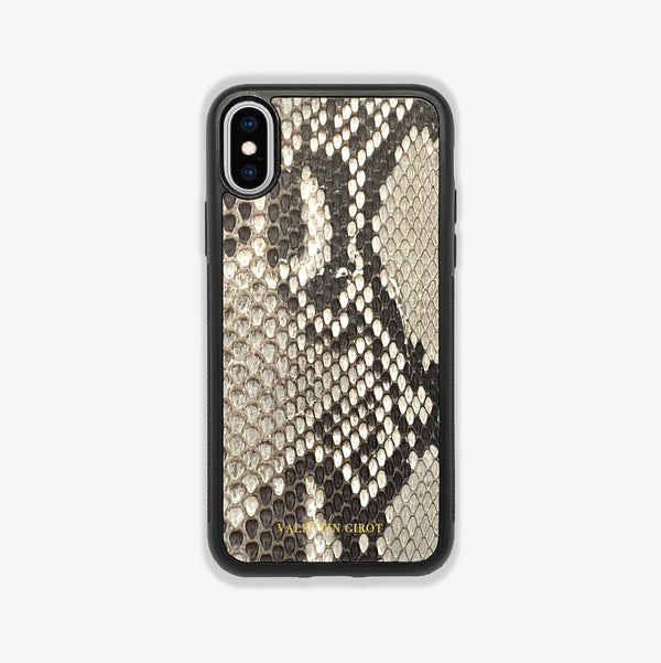 COQUE IPHONE X/XS NATUREL ÉCAILLES