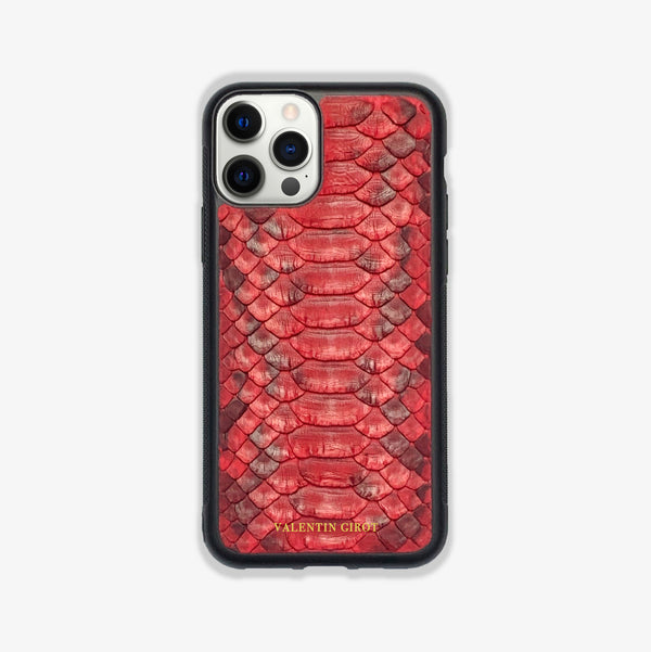 COQUE IPHONE 12 PRO ROUGE