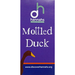 Hannahs 'Mottled Duck' Dark Chocolate