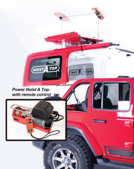 Wireless Remote Controlled Power Hoist-A-Top for JL 4 Door 2018 to Current