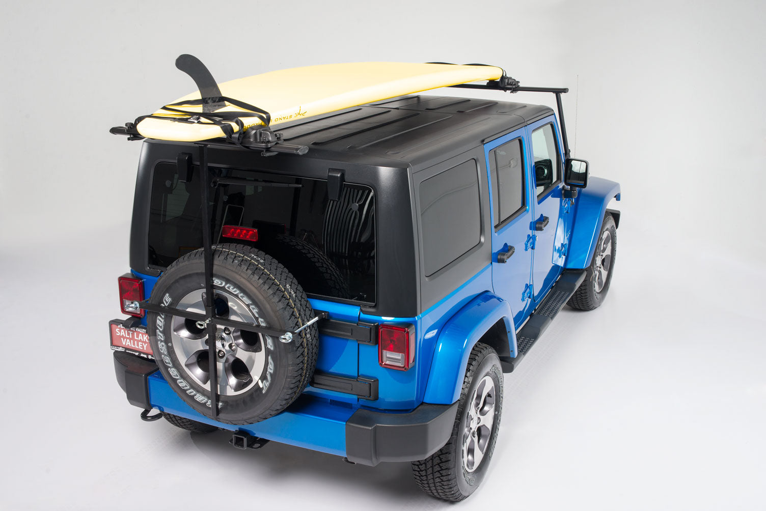 Jeep Kayak Rack