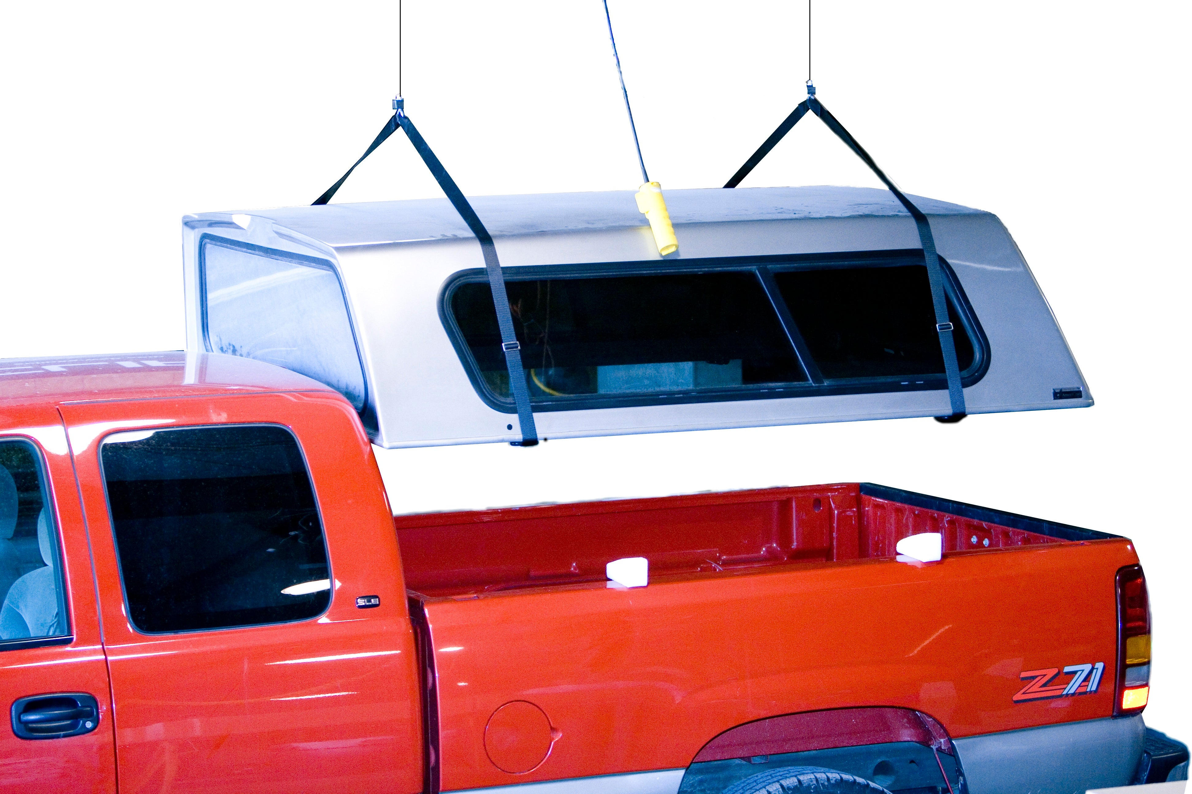 Hoist-A-Top Power Truck Camper