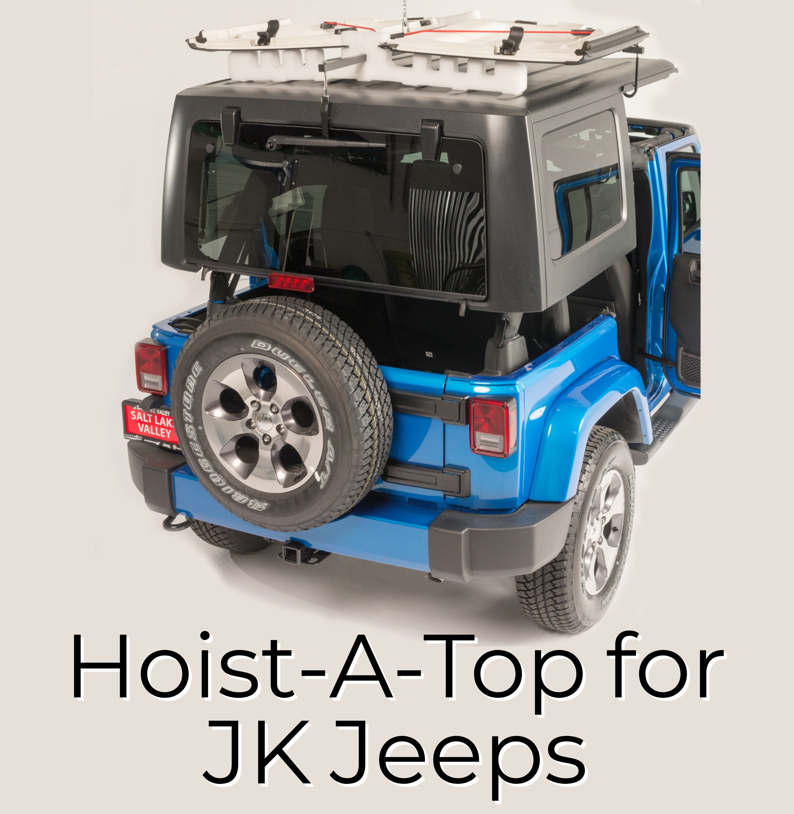 Jeep Roof Hoist: Jeep Roof Lifter & For Several Reasons Not The Least Of