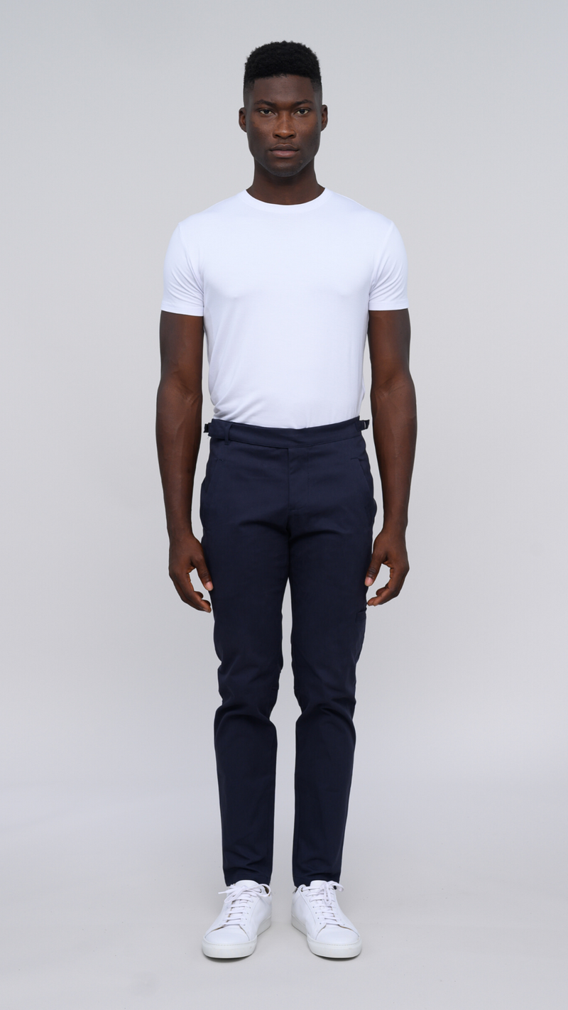 The ESNTL Navy Chinos - New